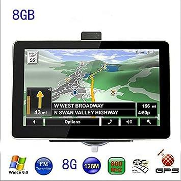 7 pulgadas coche navegación GPS Navigator Europa o de 8 GB integrado y así sucesivamente todos