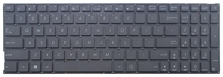 Amazon.com: senlinxiaowu New Asus X540 X540L X540LA X540S X540SA X540SC X540Y X540YA US Keyboard: Computers & Accessories