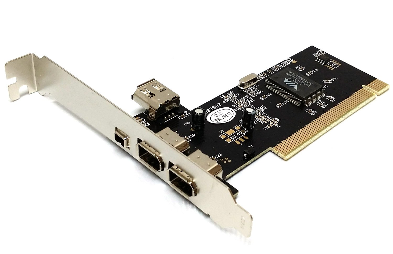 Via Chip 3 + 1 Ports Firewire IEEE1394 iLink PCI Controller
