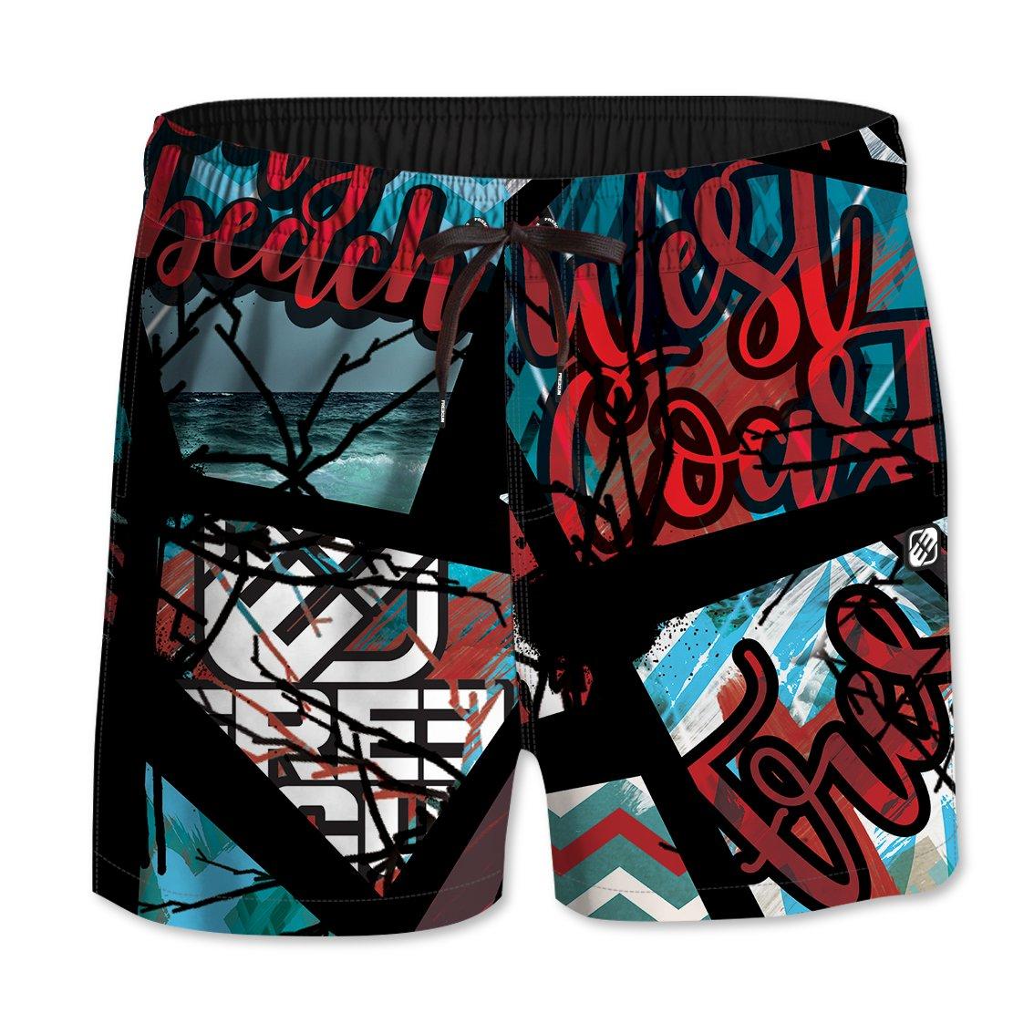 FREEGUN Boy's De Bain Shorts FG/AM/SWM/3
