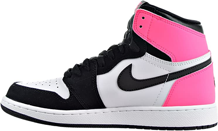 Nike Air Jordan 1 Retro High 881426009 Colore: Bianco-Nero ...