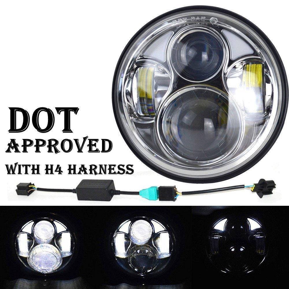 led headlamp headlight bullb upgrade for kenworth w 900a w900a 2 lamps ebay. Black Bedroom Furniture Sets. Home Design Ideas