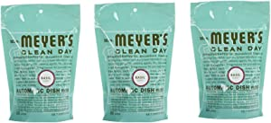 Mrs. Meyer's Clean Day Dishwasher Detergent Soap Packs (Pack of 3)
