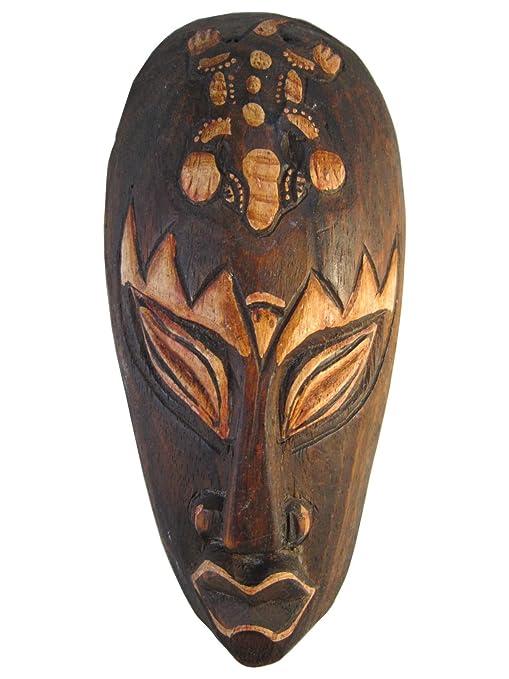 Amazon.com: El Restaurador, tallado a mano 8 inch – Máscara ...