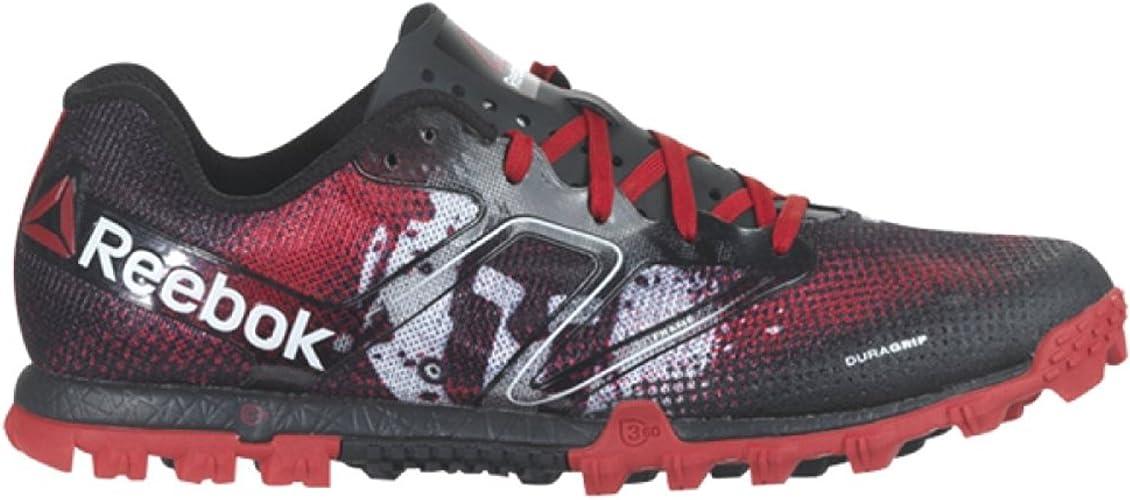Escrutinio Sinceramente seno  Amazon.com | Reebok All Terrain Super Spartan Womens Running Shoe 9.5  Red-Black-White | Running