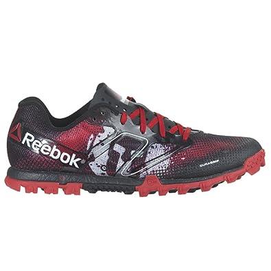 Reebok All Terrain Super Spartan Womens Running Shoe 9.5 Red-Black-White 3a544f91f