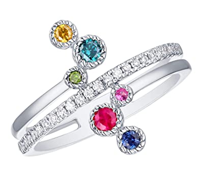 03f1d8c48f3c4 Prism Jewel 0.39Ct Ruby, Pink & Blue Sapphire With Multi Color ...