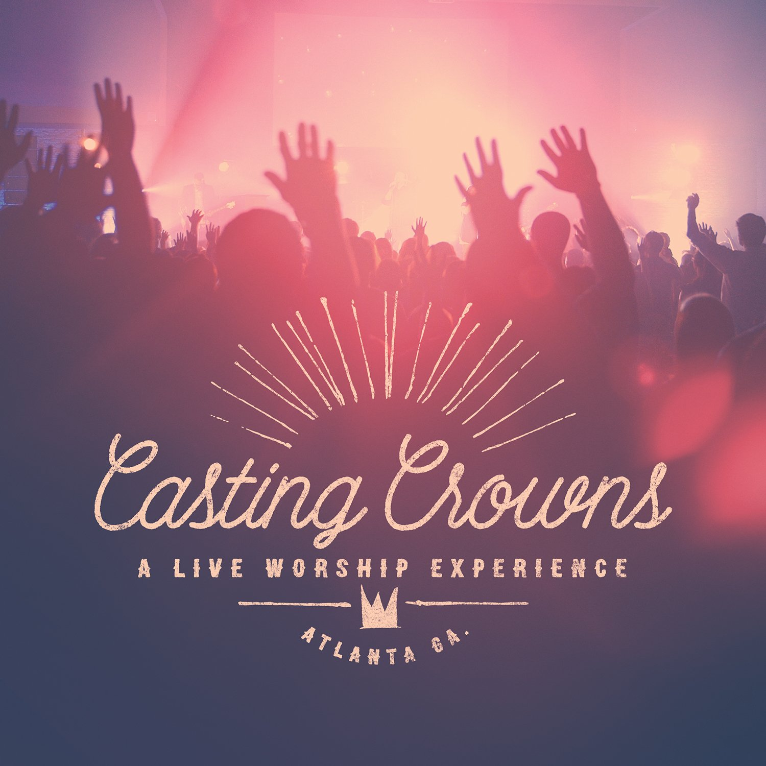 CD : Casting Crowns - A Live Worship Experience (CD)
