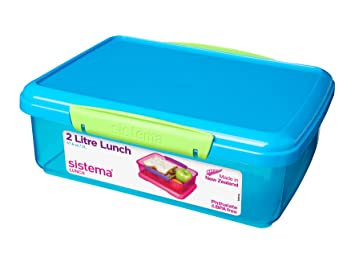 Sistema Lunch Box 2 L - Assorted Colours  sc 1 st  Amazon UK : picture of lunch box - Aboutintivar.Com