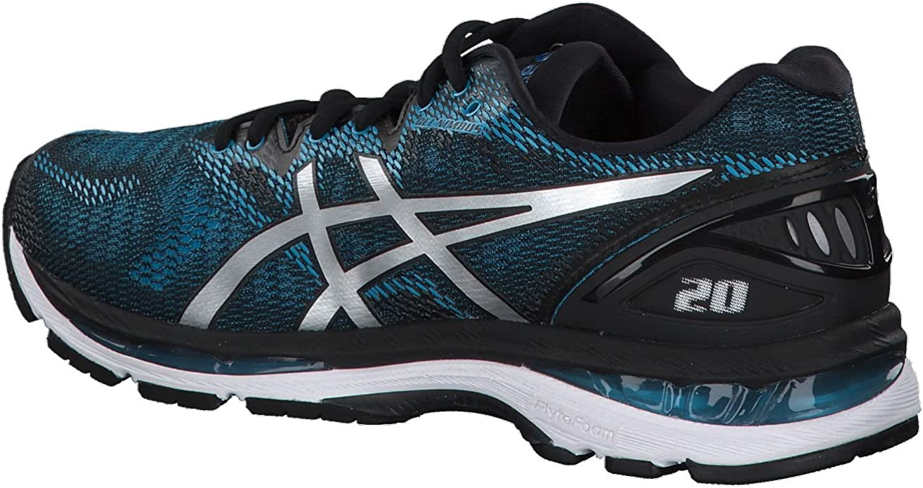 Asics Gel-Nimbus 20, Zapatillas de Running para Hombre, Azul (Island Blue/White/Black 4101), 40.5 EU: Amazon.es: Zapatos y complementos