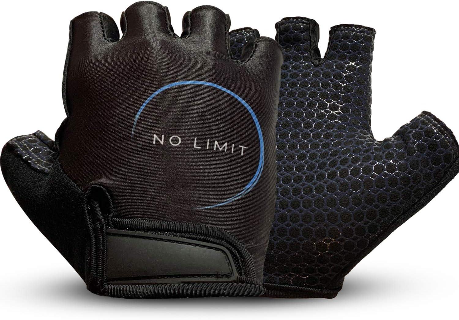 NoLimit® Fahrradhandschuhe für Damen und Herren - Geeignet als Fitness Handschuhe/Trainingshandschuhe/Sporthandschuhe/Crossfit für Männer und Frauen in Schwarz u. Rosa: Amazon.de: Sport & Freizeit - Fahrradhandschuhe