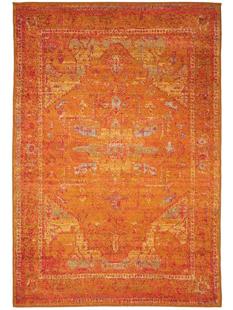 Benuta Teppich Liguria Gelb 120x180 cm   Moderner Teppich für Wohn- und Schlafzimmer B00K3FCZV4 Teppiche