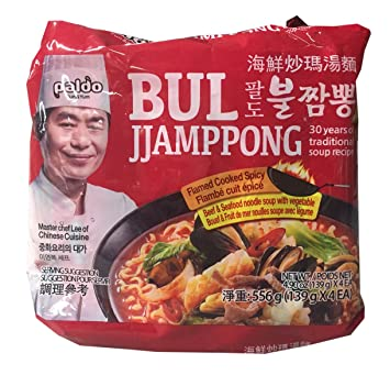 Paldo Korean Ramen Family Pack (Bul Jjamppong)