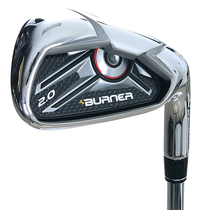Amazon.com: TaylorMade Golf quemador 2.0 LC (HP) 4-PW Stock ...