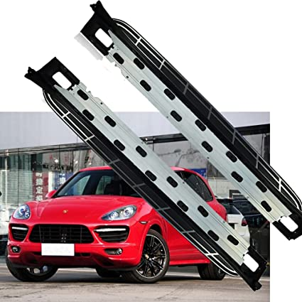 Amazon.com: Side Step Fit For Porsche Cayenne 2011 Up Nurf Bar Running Board: Automotive