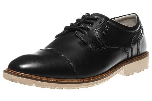 Manz Business Schuhe in Übergrößen Schwarz 146051 03 001