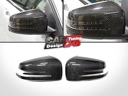 2) Puerta de Carbono Espejos Fundas para Mercedes Benz W204 ...