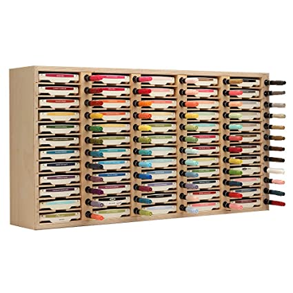 Amazon Stamp N Storage 60 Ink Pad Marker Holder Wall Mount