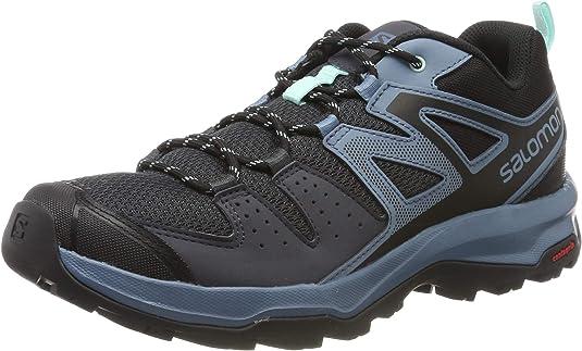 Salomon X Radiant W, Zapatillas de Senderismo para Mujer, Azul Claro/Negro (Ebony/Bluestone/Icy Morn), 36 EU: Amazon.es: Zapatos y complementos