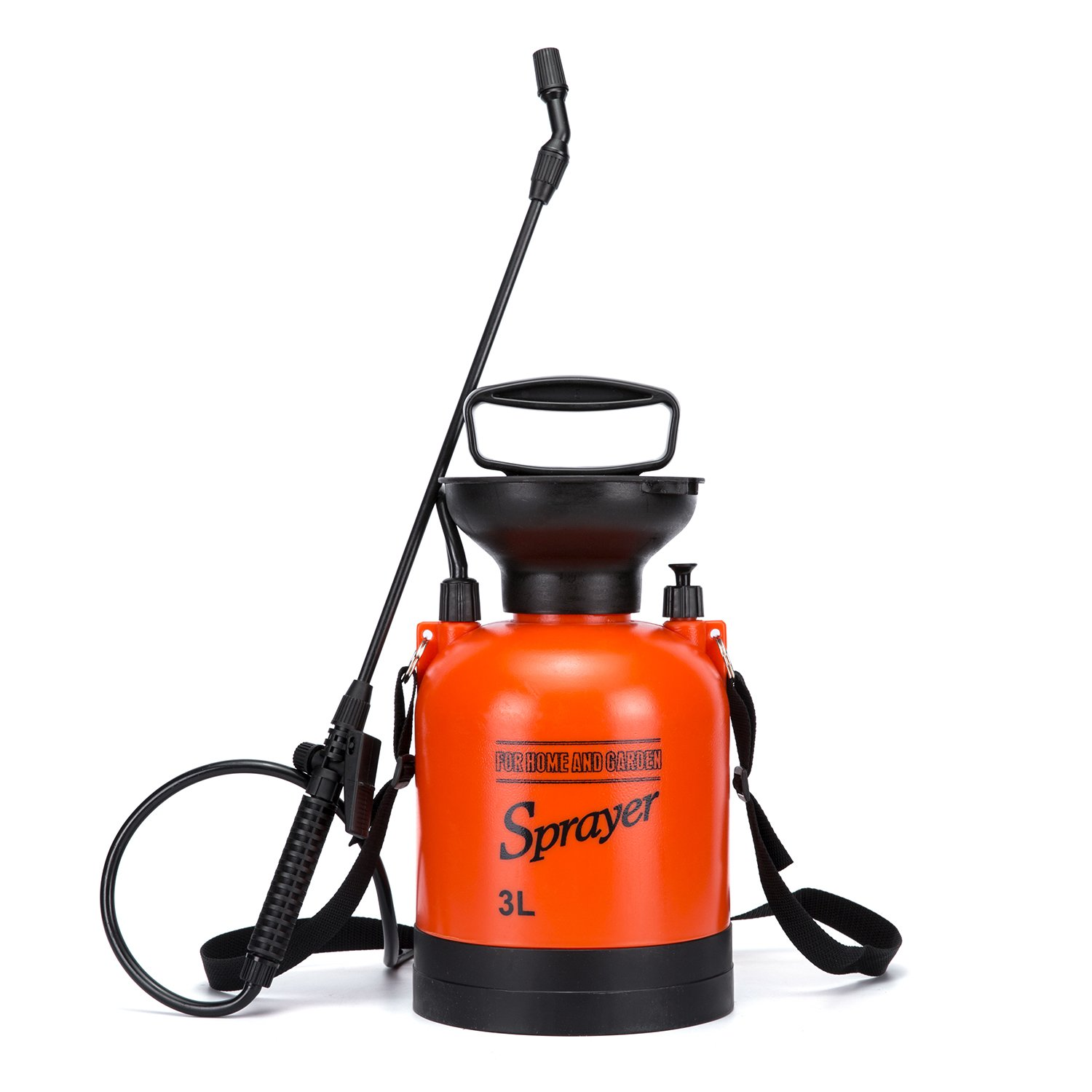 CANCA 3L Super Strong Garden Sprayer-0.8Gal Pump Pressure Liquid Sprayers for Pros Applying Weed Killers, Insecticides, and Fertilizers, Mild Cleaning Solutions and Bleach by CANCA