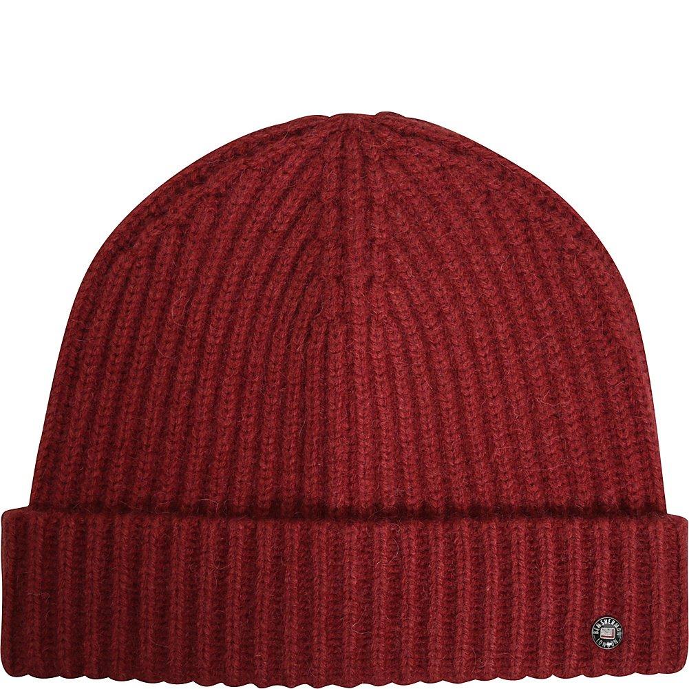 861444163 Ben Sherman Men's Wool Watchcap Beanie Hat, Sun Dried Tomato, One ...