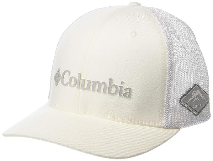 Columbia Hombre 1495921 Gorra de béisbol - Blanco - Small/Medium: Amazon.es: Ropa y accesorios