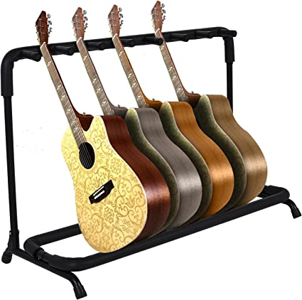 Sailnovo - Soporte triple para guitarra (trípode ajustable ...
