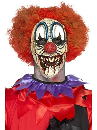Gesichtsmaske Clown Karneval Fasching Zirkus Kostum