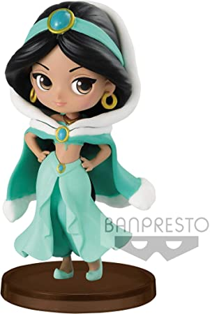 Disney Figura QPOSKET Jasmine Winter 7 CM, Multicolor (1)