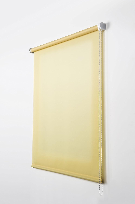 Estores Collection Tenda a Rullo Translucent Giallo 80 x 180 cm