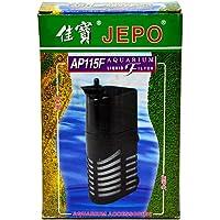 JEPO AP115F Aquarium Filter - Internal Power Filter 250LPH Max, 6.5W, HMax-0.65M