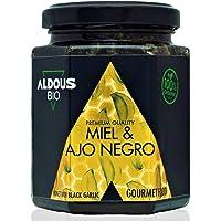 Auténtica Miel Ecológica con Ajo Negro ecológico | Producto Gourmet de Calidad Premium | 100%