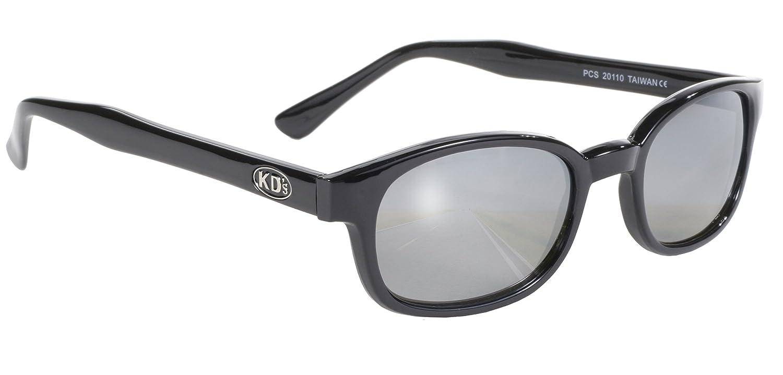 auténticas gafas de sol KD's espejo de plata 20110 - bikers