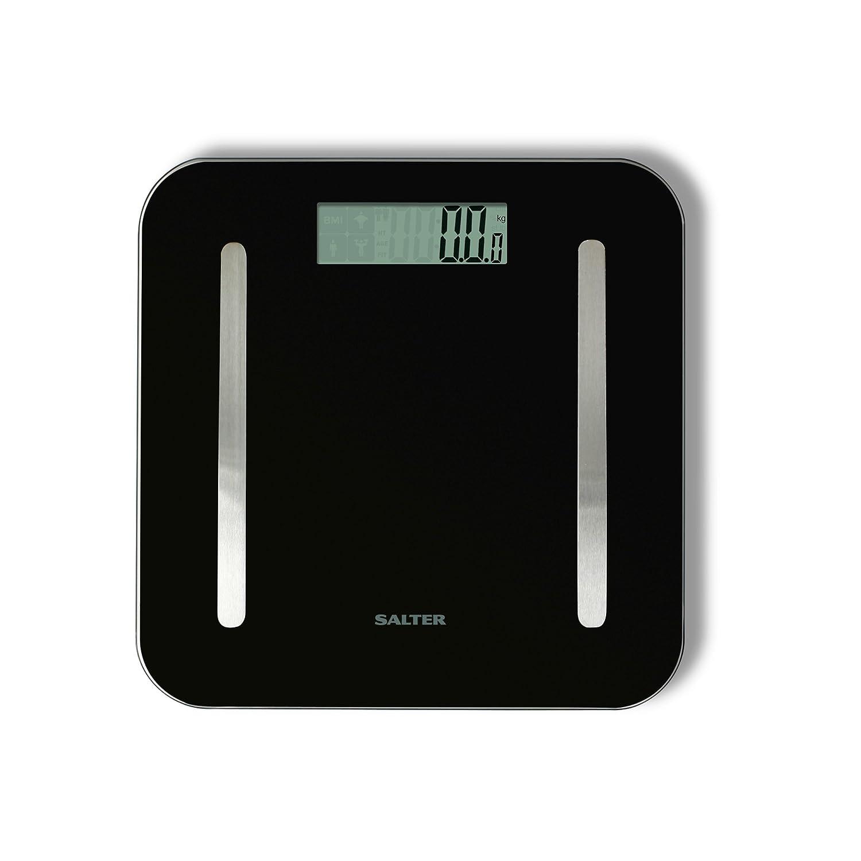 Salter Stowaweigh 9147 Bk3r Body Analyser Bathroom Scale Amazon