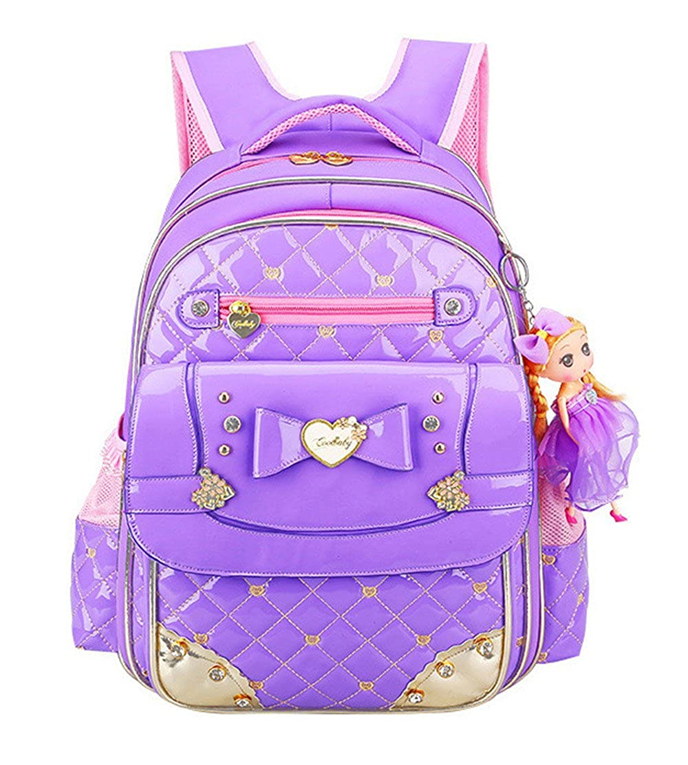 Fanci Cute Bowknot Kids School Backpack Princess Doll Primary School Book bag