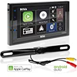 BOSS Audio Systems BCPA9685RC Apple CarPlay Android Auto Car Multimedia Player With Rearview Camera - Double-Din, 6.75 Inch L