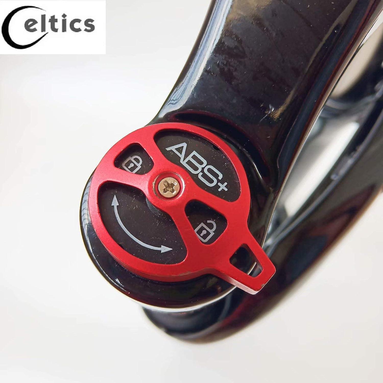 Horquilla el/éctrica para bicicleta de 66 x 10 cm y eje de 135 mm