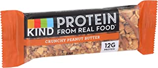 product image for KIND Protein Bar, Crunchy Peanut Butter, Gluten Free, 12g Protein, 1.76 Ounce Bar Sample