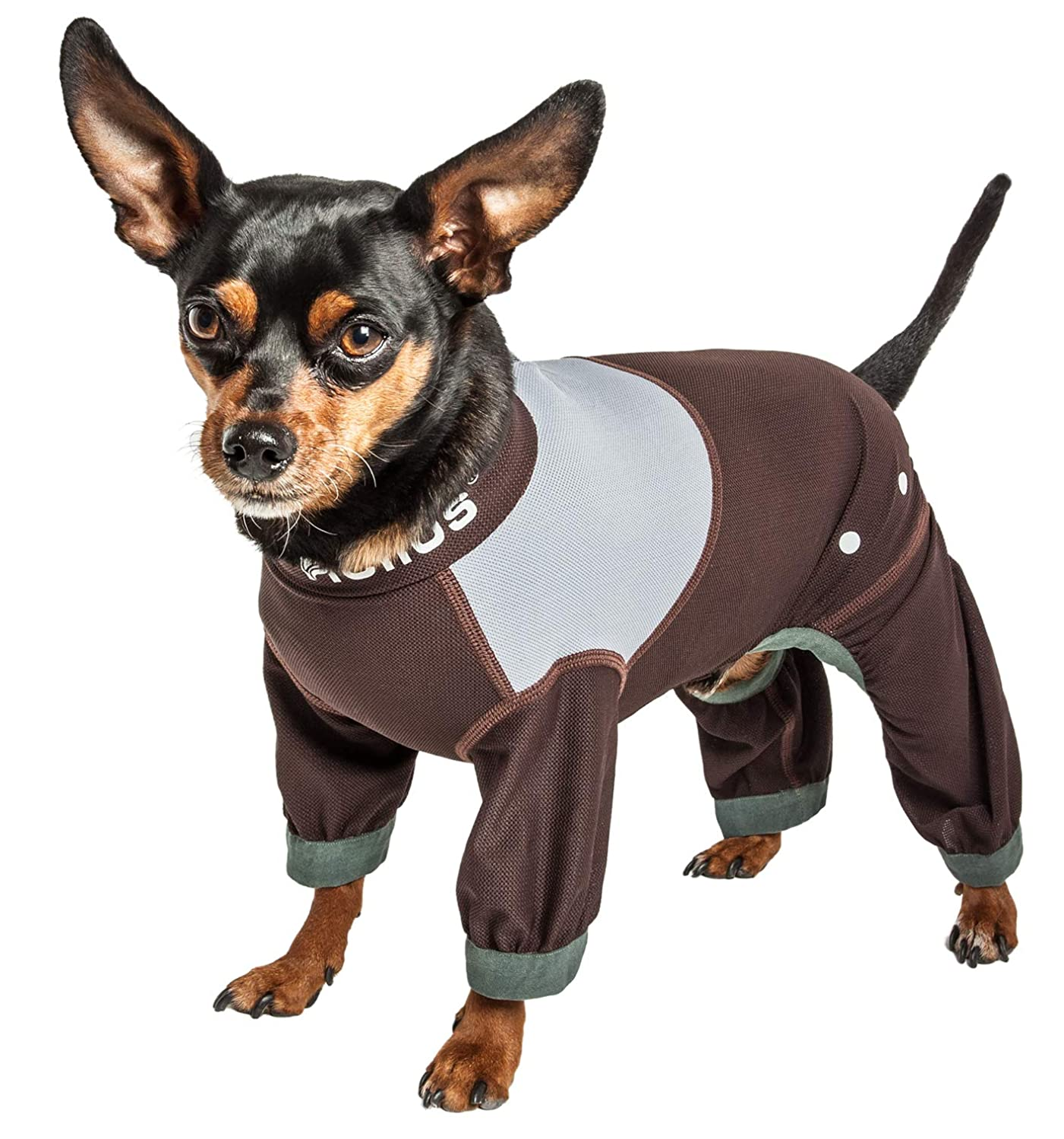 Dog Helios Tail Runner Lightweight 4-Way-Stretch Breathable Full Bodied Performance Dog Track Suit