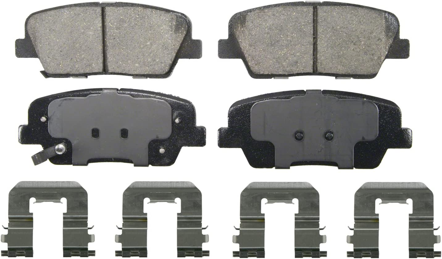 Akebono ACT787 ProACT Ultra-Premium Ceramic Brake Pad Set Engineering #ACT564