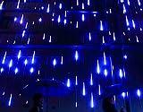 YSIM Meteor Shower Rain Lights,Twinkling Romantic