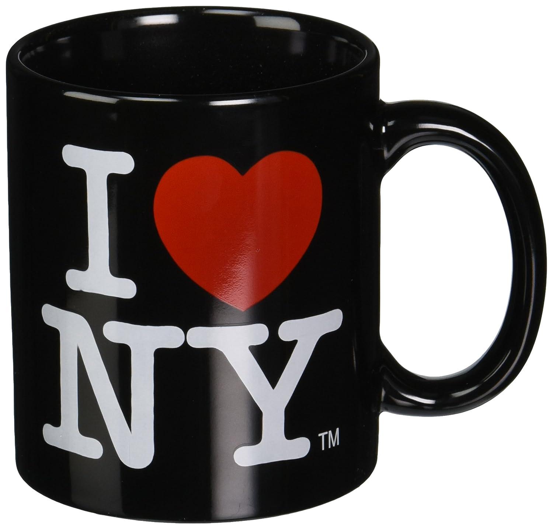 Amazon black i love ny ceramic mug with i heart ny logo nyc amazon black i love ny ceramic mug with i heart ny logo nyc souvenir mugs official kitchen dining altavistaventures Choice Image