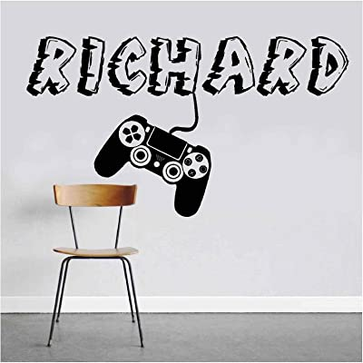 Personal Name or GamerTag Video Game Wall Mural Boys Room Kids Decor Gamer Wall Sticker Vinyl Decal - Wall Room (Designs 18): Arts, Crafts & Sewing