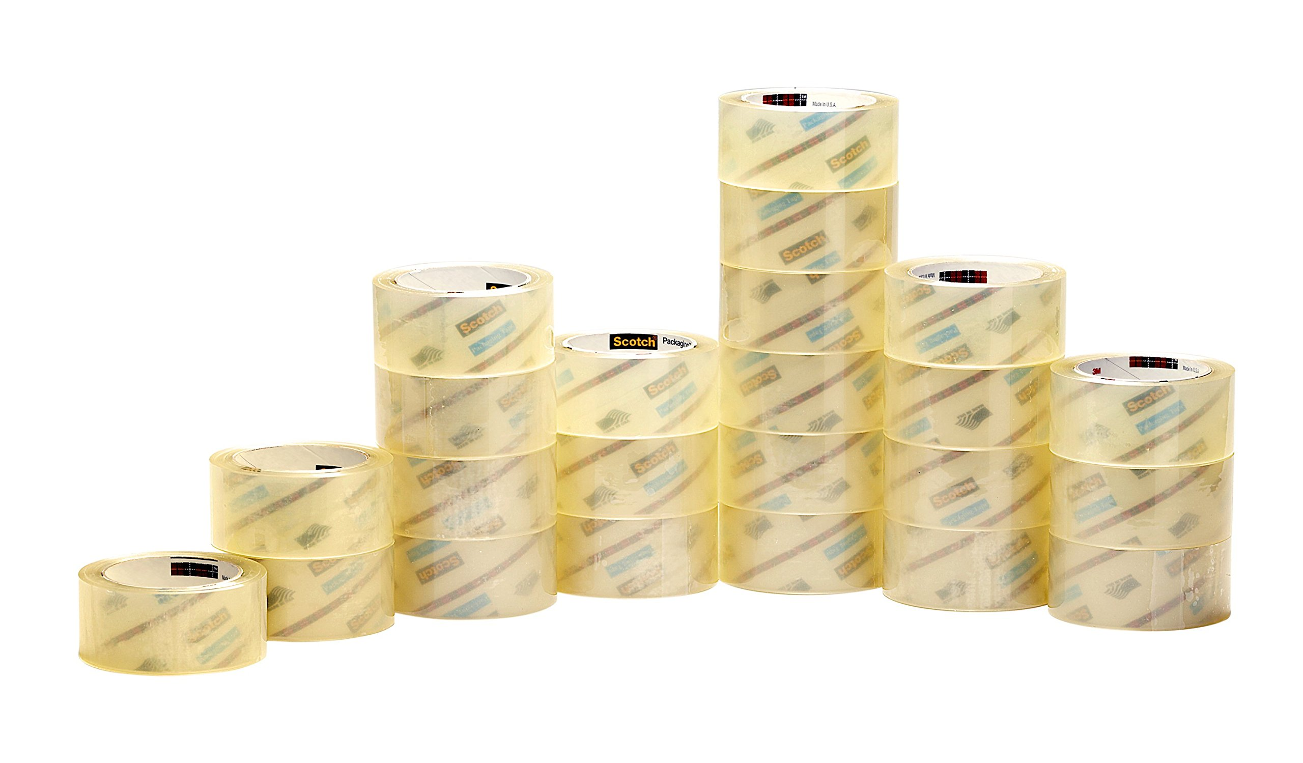 Scotch Commercial Grade Shipping Packaging Tape, 1.88 in x 54.6 yd, Case Value 48-Pack (3750-CS48) by Scotch (Image #2)