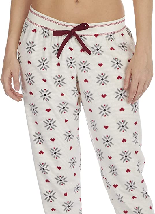 2 Paquet Insignia Femmes Salon Pantalon Pyjama Polaire Pantalon