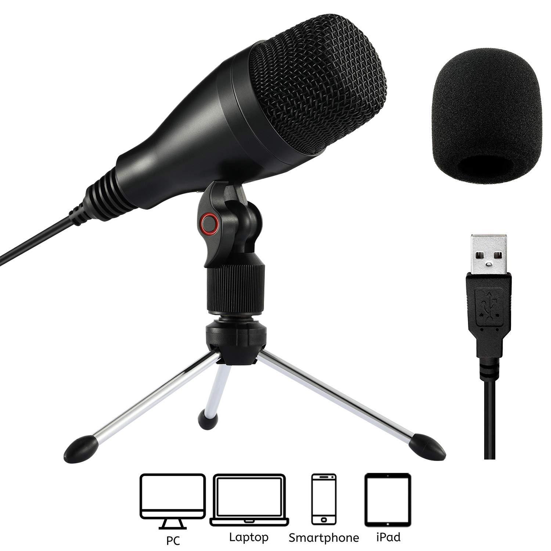 Microfono USB Moukey para PC