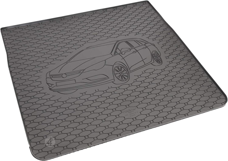 Passgenau Kofferraumwanne geeignet f/ür Opel Astra K Sports Tourer ab 2015 ideal angepasst schwarz Kofferraummatte