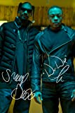 DR DRE AND SNOOP DOGG SIGNED PHOTO PRINT - SUPERB QUALITY - 12 X 8 INCHES (A4)