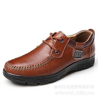 GTYMFH Spitze Leder Herrenschuhe Freizeitschuhe Männer Business Schuhe  Schuhe  Amazon.de  Bekleidung de14366437