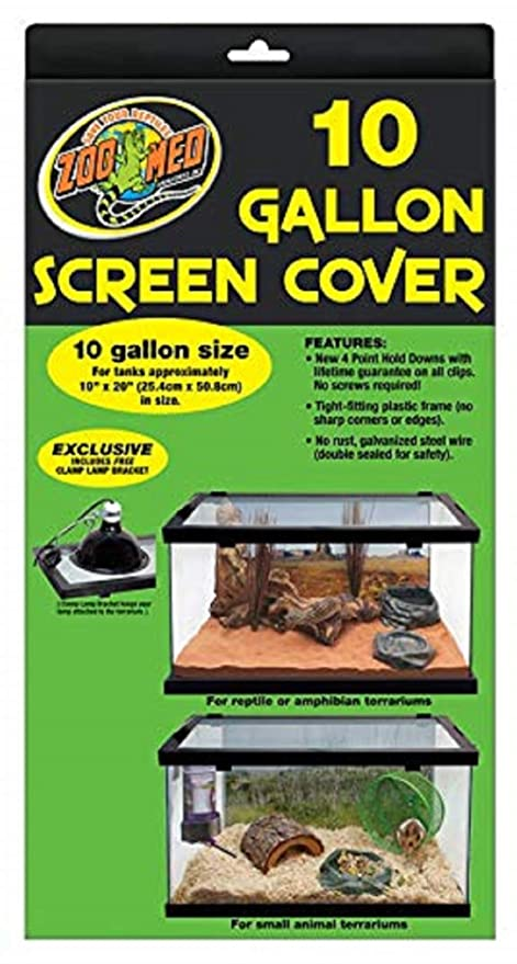 Zoo Med Screen Cover for 10 Gallon Tanks